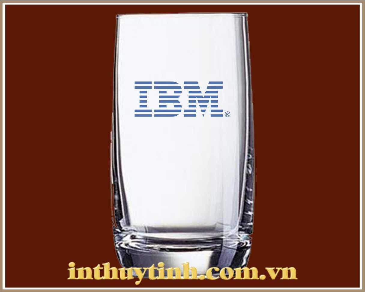 In Logo trên ly thủy tinh