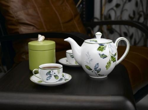 Bộ bình trà 1,1L Camelia hương biển lá xanh