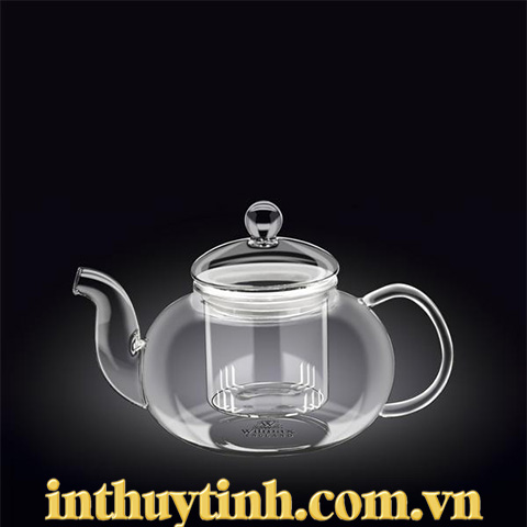 Bình trà 0.8L thủy tinh ( WILMAX)