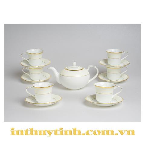 Bộ trà (13sp) White Palace Noritake
